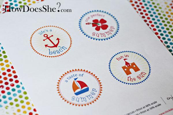 FREE Summer Fun Printables