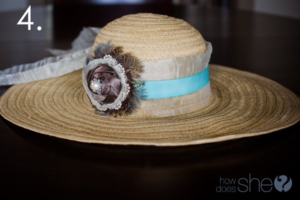 Spice up your Sun Hat