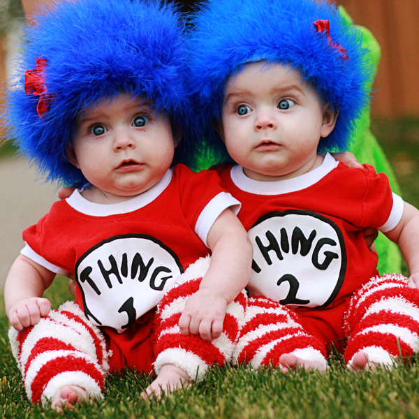 thing 1 thing 2 wig