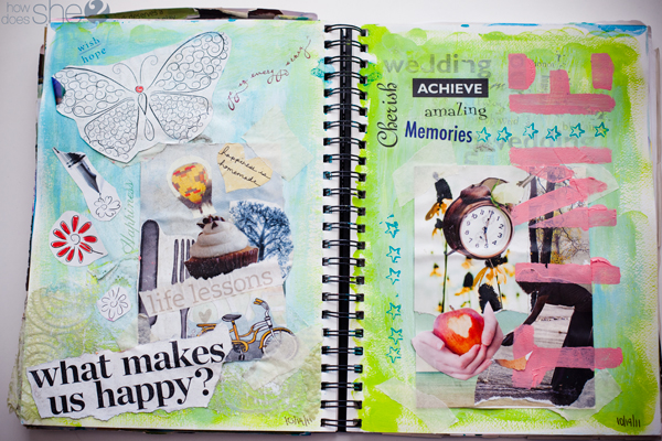 How to make a visual journal