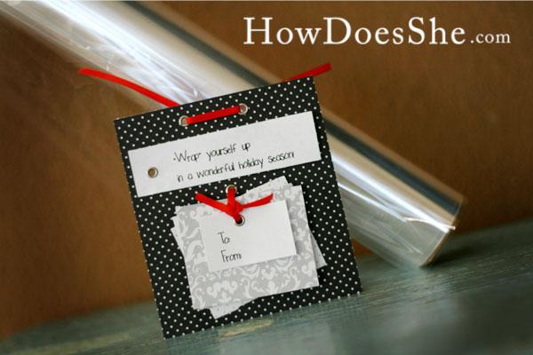 Gift tag ideas sayings for christmas